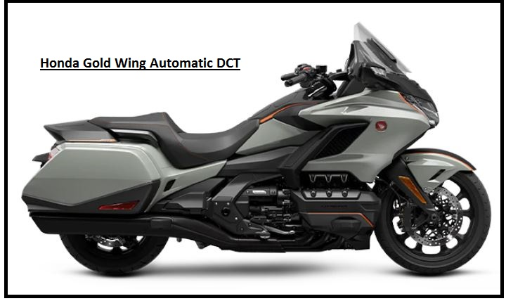 Honda Gold Wing Automatic DCT Specs