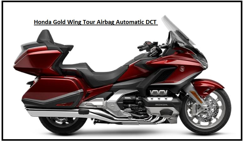 Honda Gold Wing Tour Airbag Automatic DCT Specs